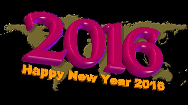 Excellente année 2016