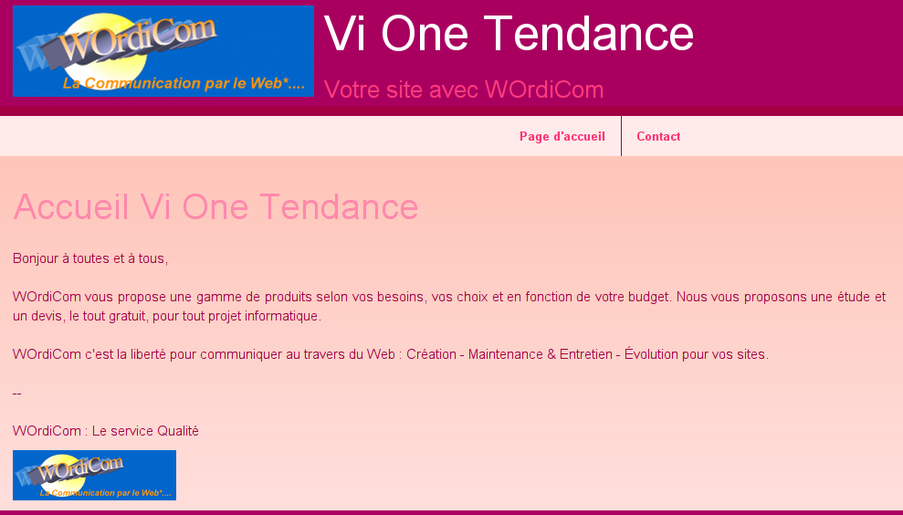 Vione tendance wordicom 1